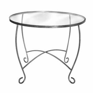 Aaron Contemporary Round Display Table