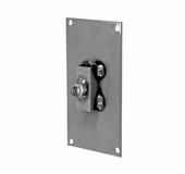 Aaron Contemporary Rectangle Wall Mount Flange