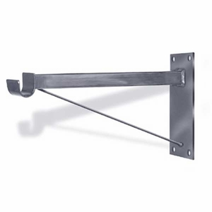 Aaron Contemporary 12in. Straight Arm Wall Bracket