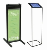 Abstracta Sign Stands