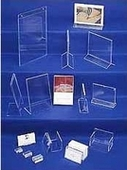 Acrylic Literature Displays & Sign Holders
