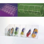 Acrylic Adjustable Bins