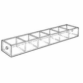Acrylic 1-1/2in. Compartment Mini Tray