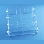 Acrylic 4-Tier Narrow Bin System
