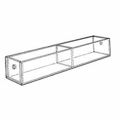 Acrylic 5-3/4in. Compartment Narrow Tray