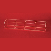 Acrylic 2-3/4in. Compartment Narrow Tray