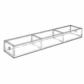 Acrylic 5in. Compartment Standard Tray