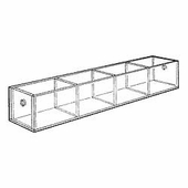 Acrylic 3-1/4in. Compartment Standard Tray