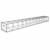 Acrylic 1-3/4in. Compartment Wide Tray