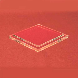 Clear Square Acrylic Base for Box Cases