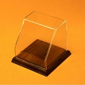 Square Angled Front Acrylic Display Case with Base