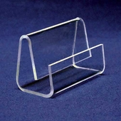Acrylic Angled Back Business Card Holder