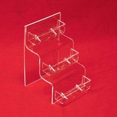 Acrylic Stairstep Multi-Business-Card Holders