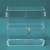 Acrylic Hinged Front-Door Cases