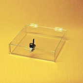 Acrylic Locking Top-Opening Tray
