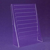 Acrylic Bent Legs Earring Card Display