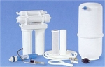 4 Stage Reverse Osmosis 50 GPD Water Filter System