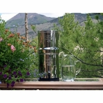 Original Big Berkey includes a Big Berkey with 2 ceramic filters, 1 Waterbob, and 1 Berkey sport bottle.