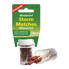 Coghlans #1170 - Windproof/Waterproof Storm Matches