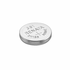 Renata 361 MP 24mAh 1.55V Silver Oxide Coin Cell Battery - 1 Piece Tear Strip, Sold Individually