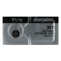 Energizer 341 Silver Oxide Watch Battery 1pc (Each)