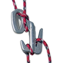 Nite Ize Figure 9 Rope Tightener - Single Pack with Rope - Large - Black with Camo Cord (F9L-03-01CAMO)