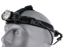 Smith and Wesson Delta Force HL-20 Rechargeable LED Headlamp - CREE XM-L2 U2 LED - 870 Lumens - Includes 1 x 18650 (110153)