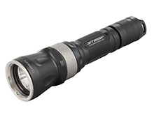 JETBeam RRT26 Rapid Response Tactical Flashlight with Red, Green and Blue LEDs - CREE XP-L LED - 1080 Lumens - Uses 2 x CR123As or 1 x 18650