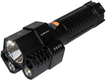 Fenix TK76 Tactical Flashlight - 3 x CREE XM-L2 U2 LEDs - 2800 Lumens - Uses 4 x 18650s or 8 x CR123As