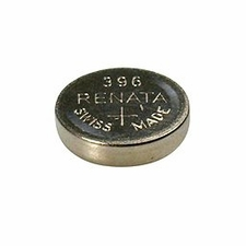Renata 396 MP 32mAh 1.55V Silver Oxide Coin Cell Battery - 1 Piece Tear Strip, Sold Individually