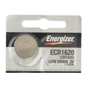 Energizer ECR1620 79mAh 3V Lithium (LiMnO2) Coin Cell Battery - 1 Piece Tear Strip, Sold Individually