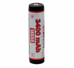Efest 3259 18650 3400mAh 3.7V Unprotected Lithium Ion (Li-ion) Button Top Battery - Boxed