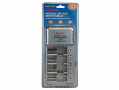Tenergy V-1199 AA AAA C D 9V NiMH Battery Charger for AA, AAA, C, D, and 9V Cells (T-1199BE)