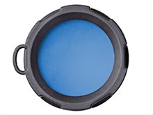 Olight Blue Filter - Fits the Olight S Series, M10 and M18 LED Flashlights (OLIGHT-FM10-B)