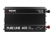 Wagan EL3800 ETL PureLine 400W Power Inverter