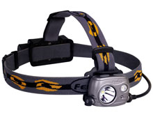 Fenix HP25R High Performance USB Rechargeable Dual-Output Headlamp - CREE XM-L2 U2 / XP-G2 R5 Neutral White LED - 1000 Lumens - Uses 1 x 18650 (Included) or 2 x CR123As