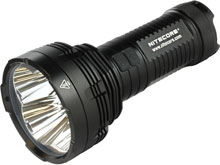 Nitecore Tiny Monster TM16GT Flashlight - 4 x CREE XP-L HI V3 LEDs - 3600 Lumens - Uses 4 x 18650s