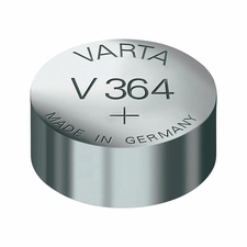 Varta 364 17mAh 1.55V Electronic Silver Oxide Coin Cell Battery (V364) - Pill Box (V20364101111)