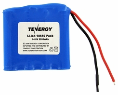 Tenergy 31021 Lithium Li-Ion 18650 14.8V 2200mAh Battery Pack