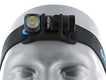Olight H1R Rechargeable Right Angle Headlamp - CREE XM-L2 LED - Cool or Neutral White - 600 Lumens - Includes 1 x 16340