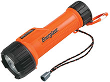 Energizer Intrinsically Safe LED Flashlight - 60 Lumens - Uses 2 x Ds - Class I Div 1 (MS2DLED)