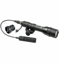 SureFire M600V-A-BK IR Scout Light LED Rifle Light with 120mW Infrared Output - Fits Picatinny Railed Rifles, Carbines, Submachine Guns - 150 Lumens - Includes 2 x CR123As