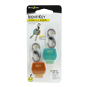 Nite Ize IdentiKey Covers Combo Pack - Includes 2 x S-Biner MicroLock Carabiner Clips (KIDC-M1-4R7)