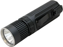 Nitecore SmartRing Tactical SRT9 LED Flashlight - CREE XHP50 White LED - Red, Blue, Green, and UV LEDs - 2150 Lumens - Uses 2 x 18650 or 4 x CR123A