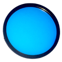 "AELight BLUE UV Colored Filter 2-3/4"" Rubber Ring AEX20 & AEX25"