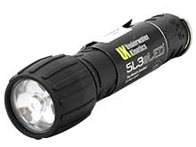 Underwater Kinetics SL3 (L1) eLED Dive Light - 125 Lumens - Includes 3 x C Cells - Black