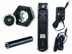Streamlight Stinger Supercharger Kit EX (includes) TerraLUX TLE-ST1-EX MiniStar ST/EX LED Upgrade, 3.6V, 3000mAh Nimh Battery Stick, and Charger!