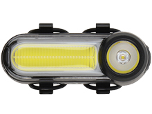 Nite Ize Radiant 125 Rechargeable Bike Light - White LED - 125 Lumens - Includes Built-In Li-Ion Battery Pack