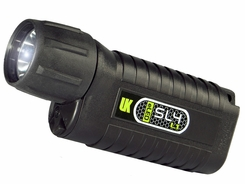 Underwater Kinetics SL4 eLED (L1) Dive Light - 400 Lumens - Uses 4 x C Cells - Black or Safety Yellow