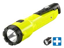 Streamlight Dualie Intrinsically Safe Rechargeable Flashlight with Magnet - 2 x Streamlight C4 LEDs - 275 Lumens - Includes 1 x Lithium Ion (Li-Ion) Battery - Boxed Packaging - Various Colors and Accessories